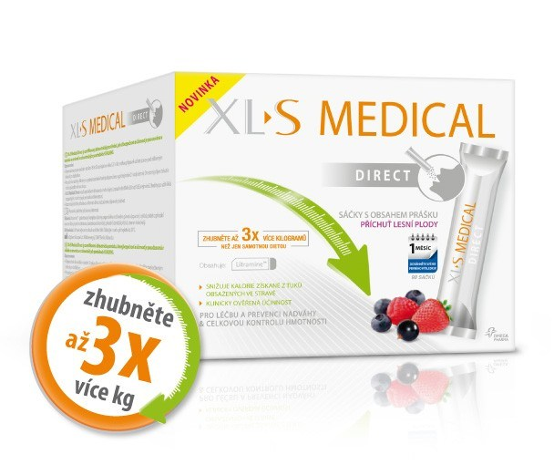 Omega Pharma XLtoS Medical Direct 90 sáčků