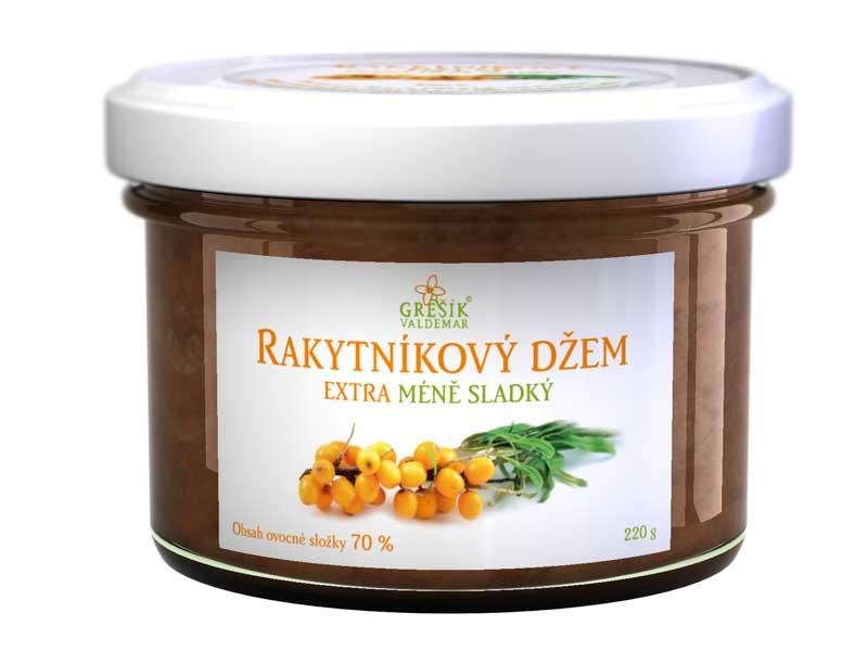 Grešík Rakytníkový džem Extra méně sladký 220 g