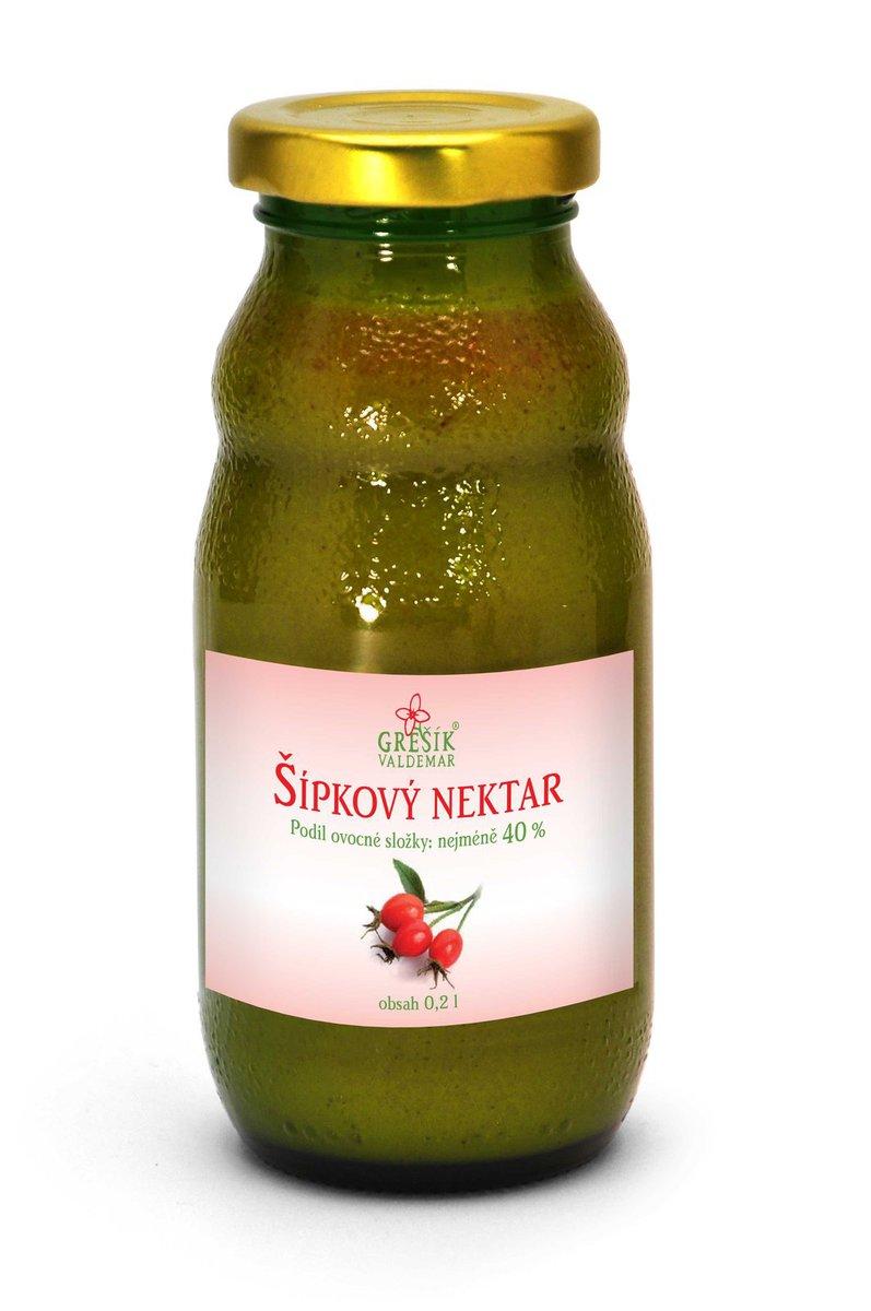 Grešík Šípkový nektar 200 ml