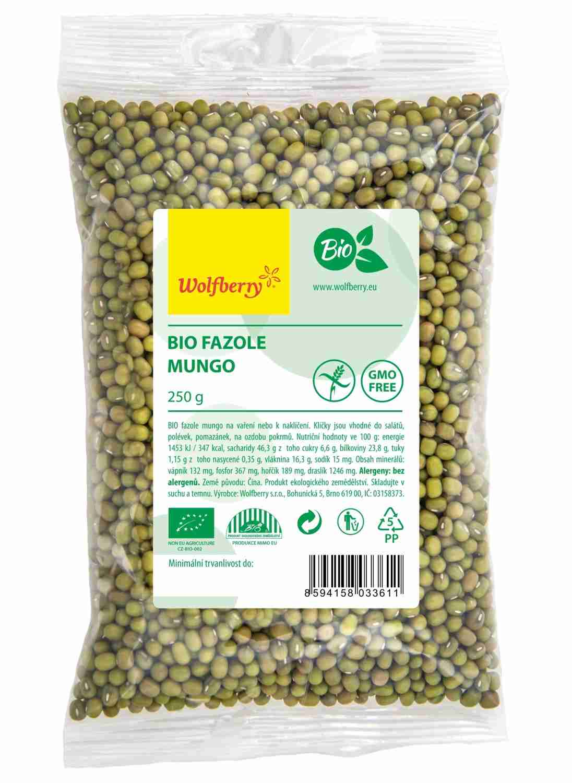 Wolfberry Bio Fazole Mungo 250 g