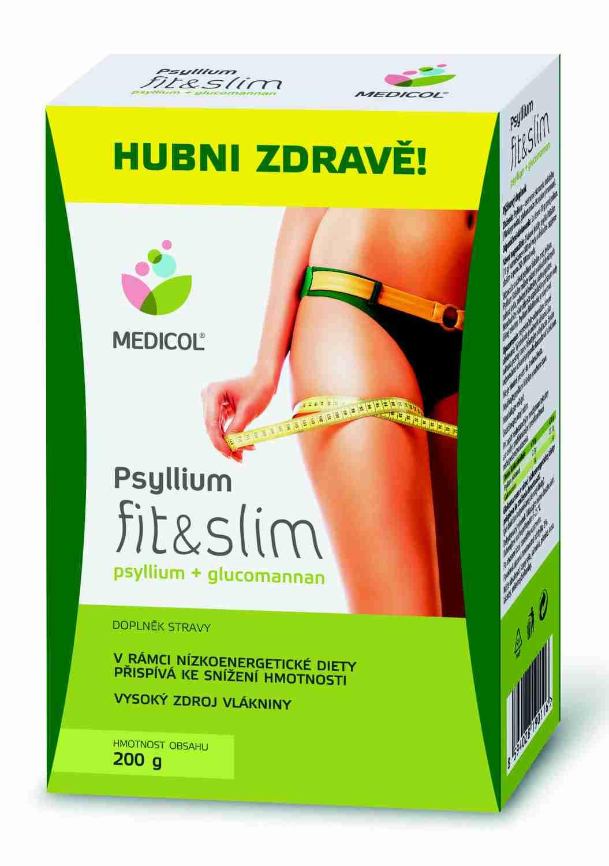 Topnatur Psyllium fit & slim Medicol 200 g