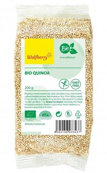 Wolfberry BIO Quinoa bílá 200 g