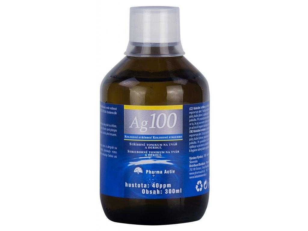 Aurum Koloidní stříbro Ag100 (40ppm) 500 ml