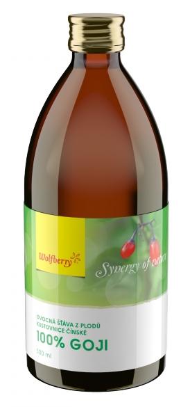 Wolfberry Goji Kustovnice čínská - 100% šťáva 500 ml