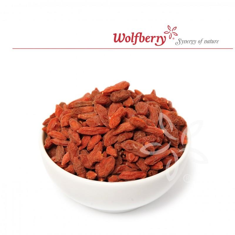 Wolfberry Bio Goji Kustovnice čínská sušené plody 250 g