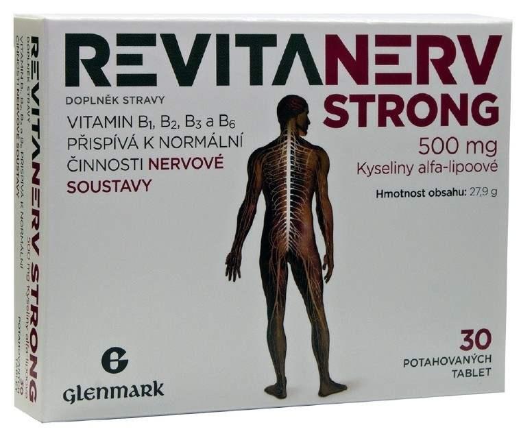 Master Pharm Revitanerv Strong 500 mg 30 tbl.