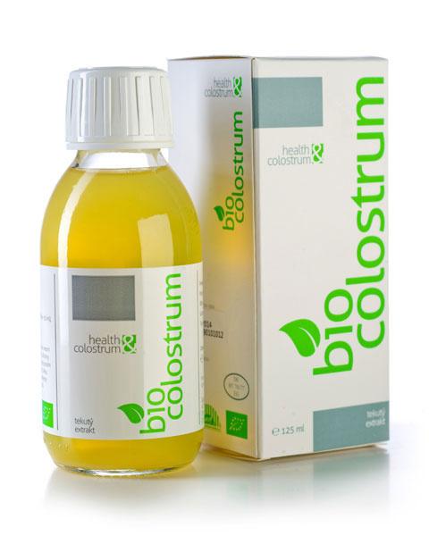 Health & Colostrum Health&Colostrum Bio colostrum tekuté čisté 125 ml