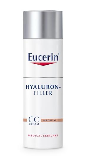 Eucerin CC krém SPF 15 Hyaluron-Filler (středně tmavý) 50 ml