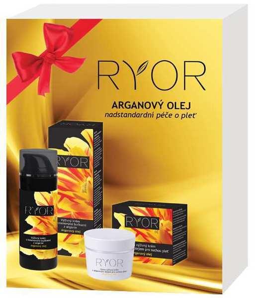 Ryor Dárková kazeta Arganový olej III, nadstandartní péče o pleť