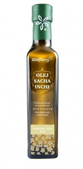 Wolfberry Bio Sacha Inchi olej za studena lisovaný 250 ml