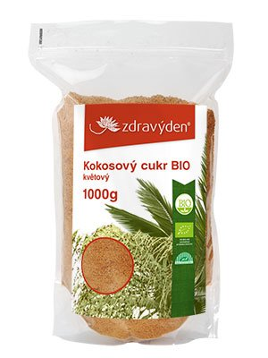 ZdravýDen® BIO Kokosový cukr květový 1000 g