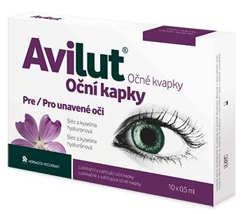 Herbacos Recordati Avilut® Oční kapky 10x0,5 ml