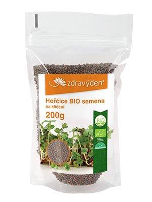 ZdravýDen® BIO Hořčice - semena na klíčení 200 g