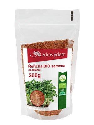 ZdravýDen® BIO Řeřicha - semena na klíčení 200 g