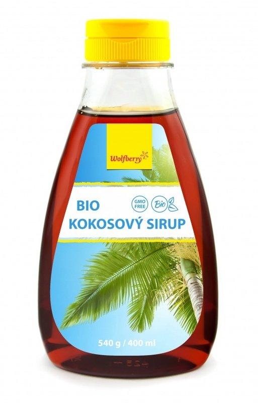 Wolfberry Bio Kokosový sirup 540 g