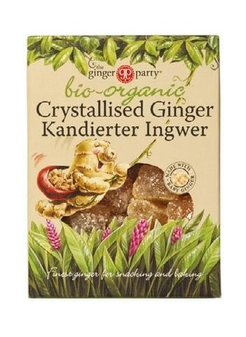 Ginger People Bio kandovaný zázvor 84 g