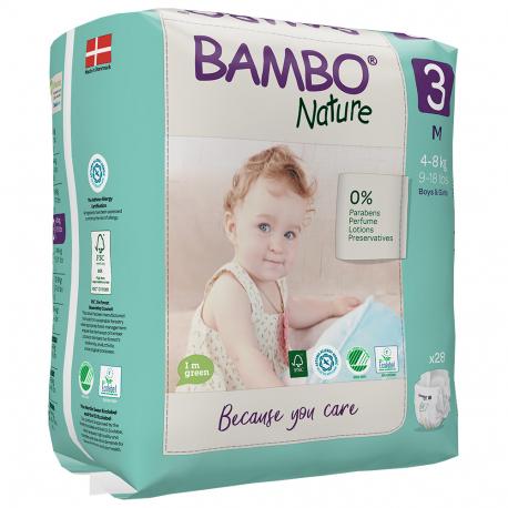 Abena Bambo Nature 3 Midi 5-9kg 33 ks