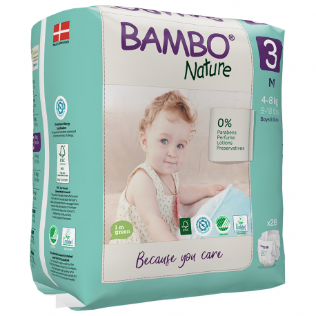 Bambo Nature 3 Midi 5-9kg 33 ks