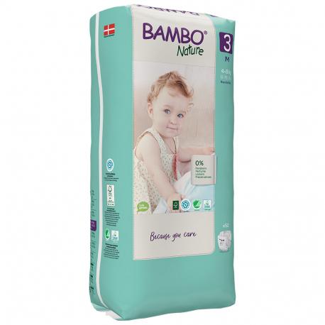 Abena Bambo Nature 3 Midi 5-9kg 66 ks