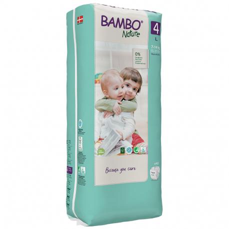 Abena Bambo Nature 4 Maxi 7-18kg 30 kusů
