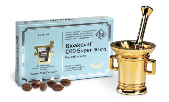 Pharma Nord Bioaktivní Q10 Super 30 mg 60 kapslí