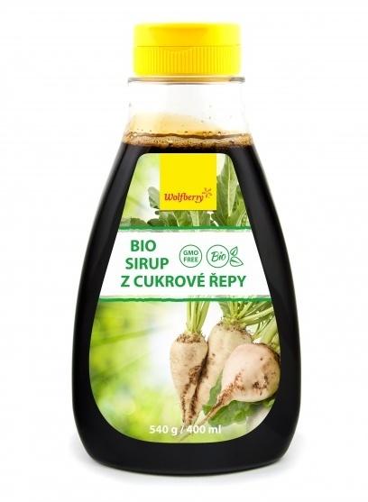Wolfberry Bio Sirup z cukrové řepy 540 g