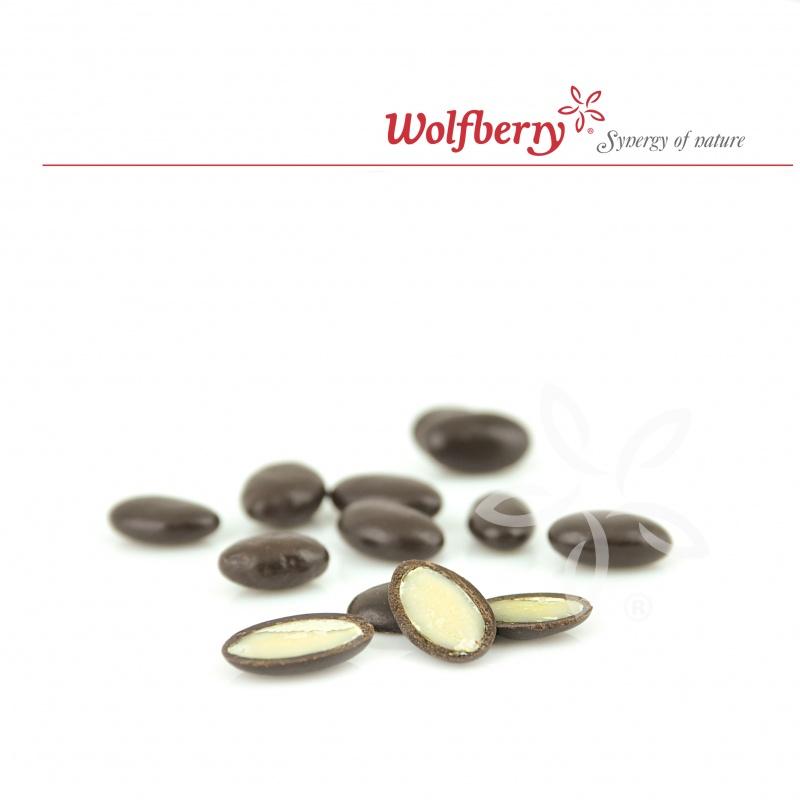 Wolfberry Bio Dýňová semínka v hořké čokoládě 100 g