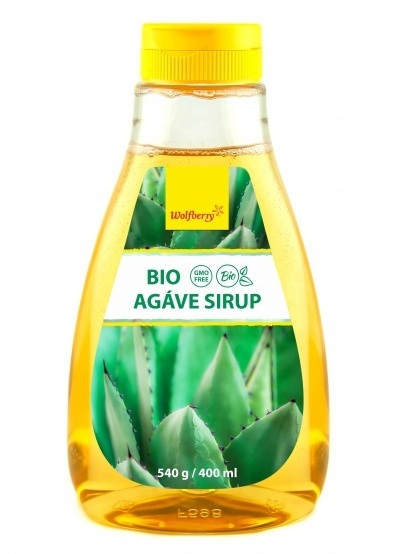 Wolfberry Bio Agáve sirup 400 ml