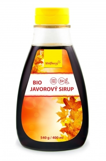 Wolfberry Bio Javorový sirup 540 g