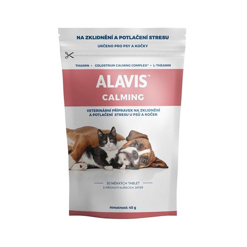 ALAVIS™ Calming pro psy a kočky 45 g 30 tbl.