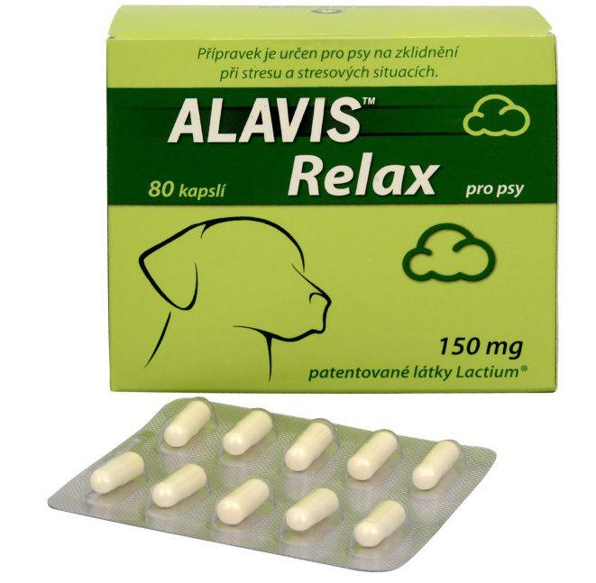 ALAVIS™ Relax 150 mg pro psy 80 kapslí