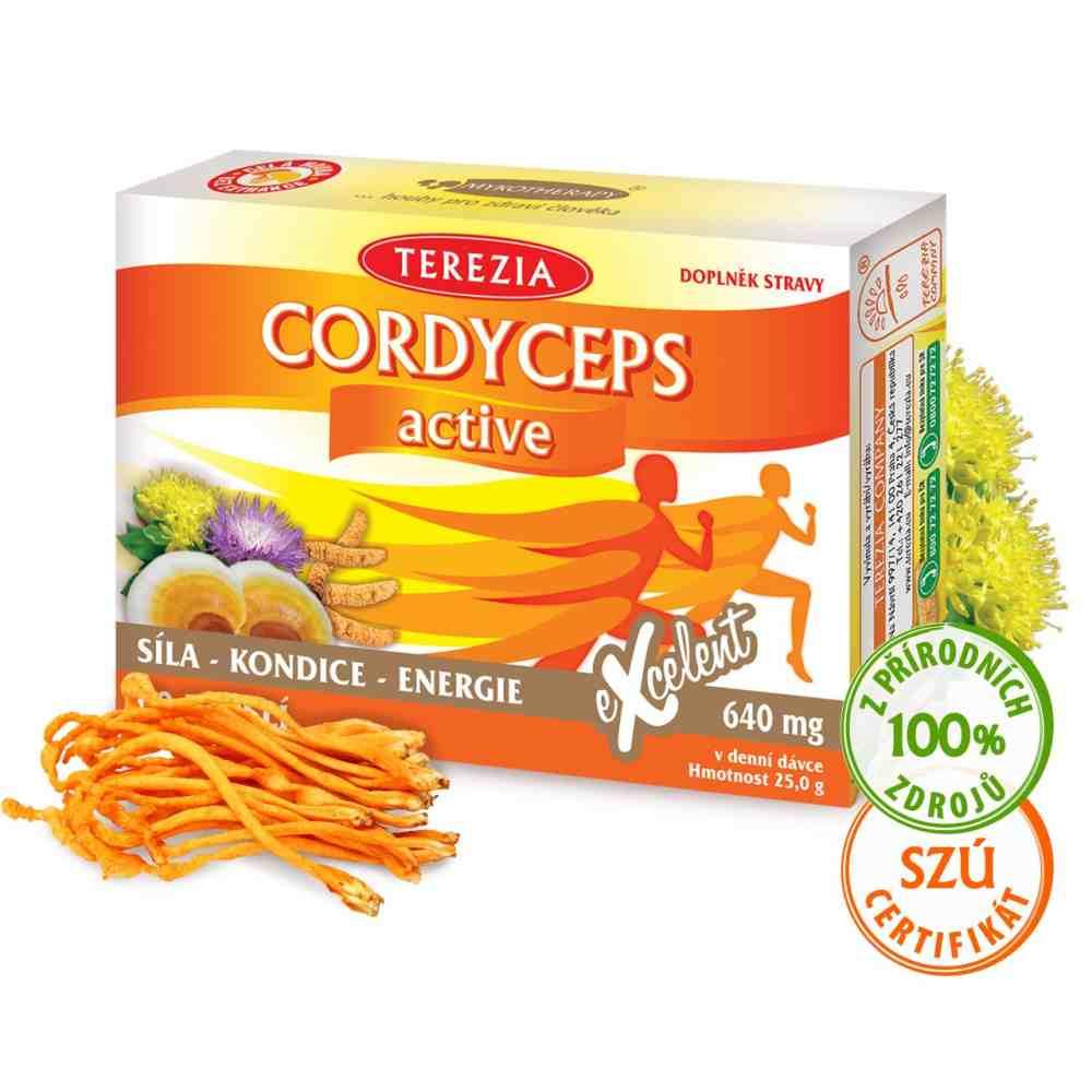 Terezia Company Cordyceps Active 60 kapslí