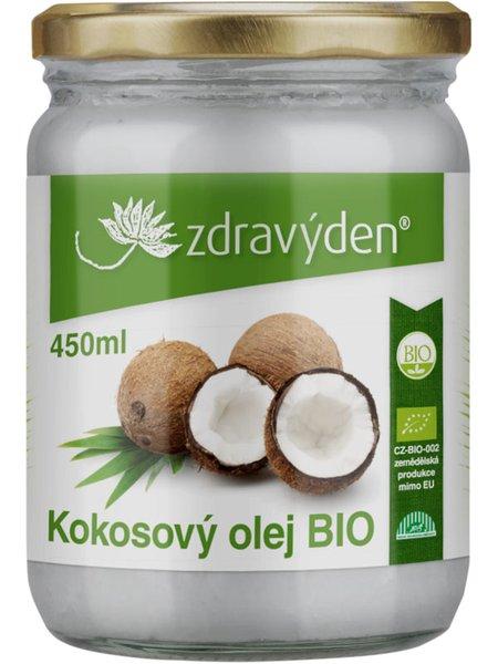 ZdravýDen® BIO Kokosový olej 450 ml