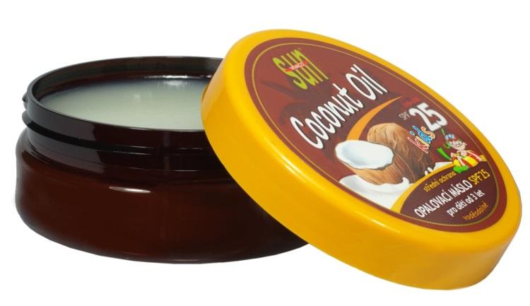 Vivaco Sun Opalovací máslo s kokosovým olejem pro děti OF 25 200 ml