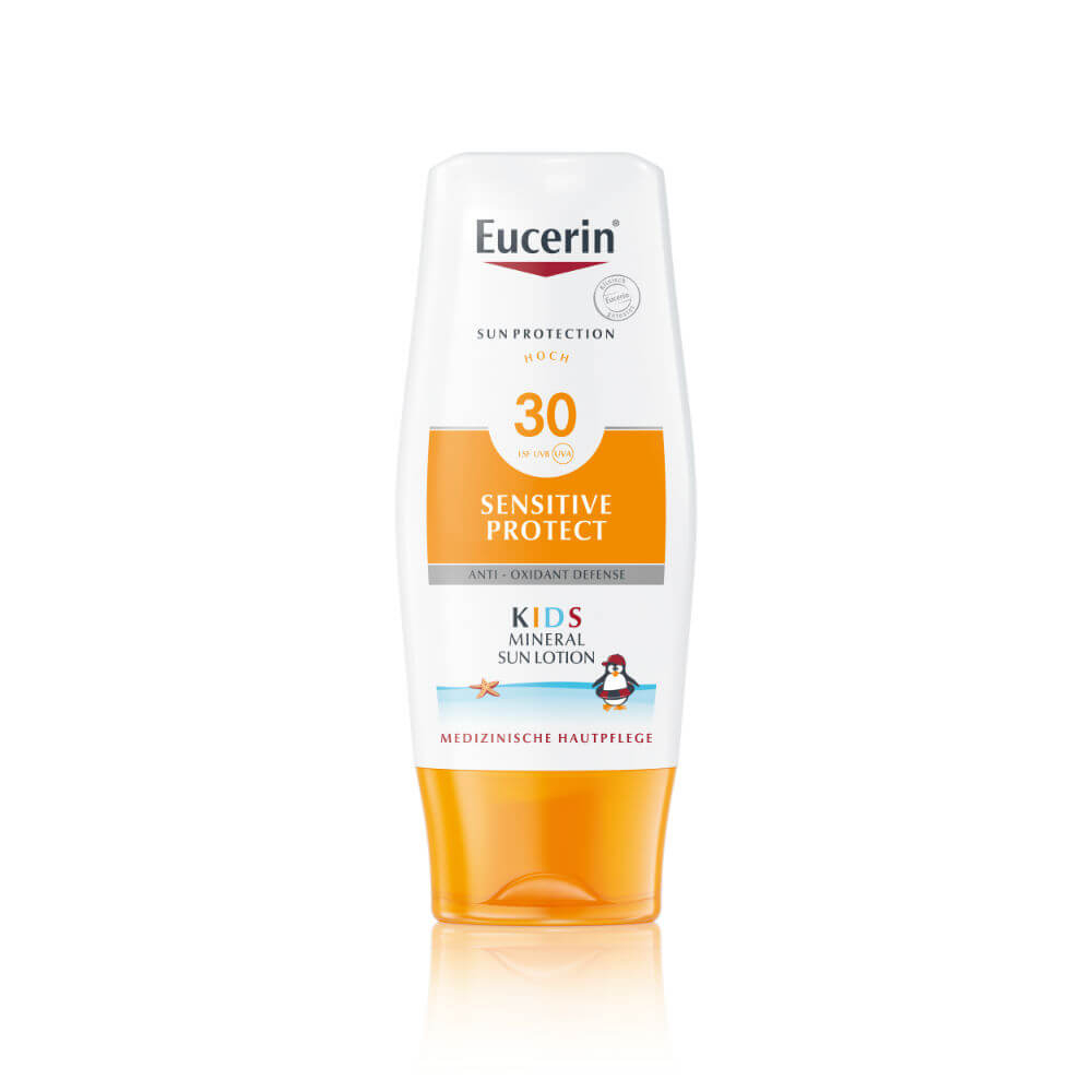 Eucerin Sun Dětské mléko na opalování s ochrannými mikropigmenty SPF 30 150 ml