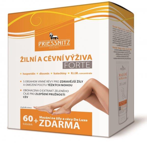 Simply You Pharmaceuticals a.s. Simply You Priessnitz Žilní a cévní výživa Forte 60 tob.