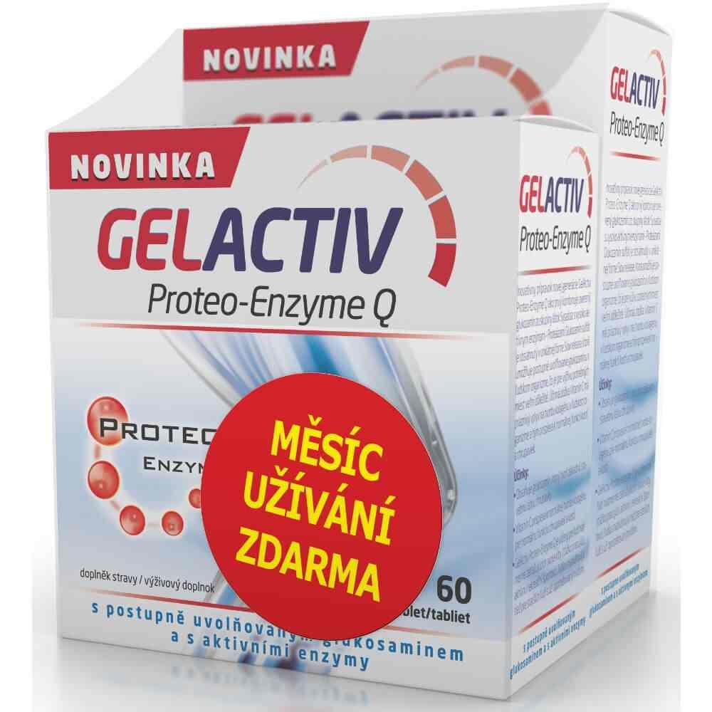 SALUTEM Pharma GelActiv Proteo-Enzyme Q 120 tbl. + 60 tbl. ZDARMA