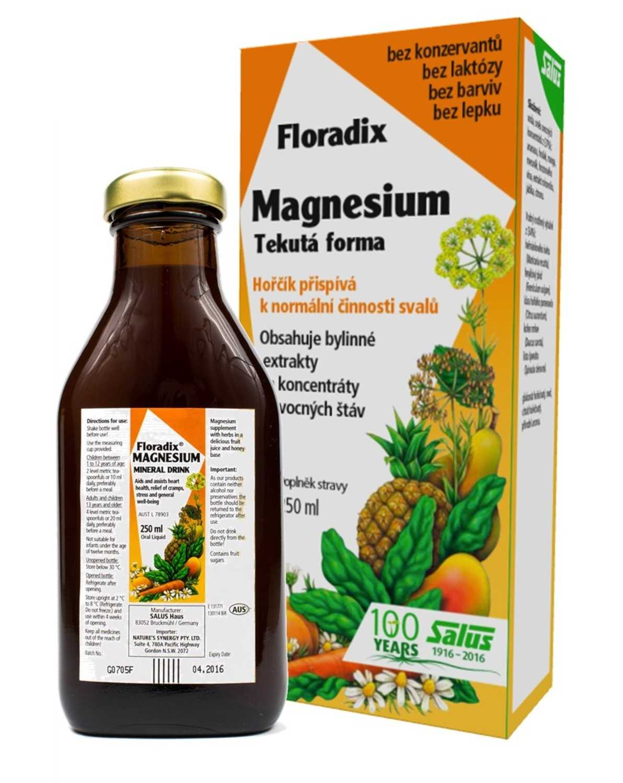Salus Haus Floradix Magnesium 250 ml
