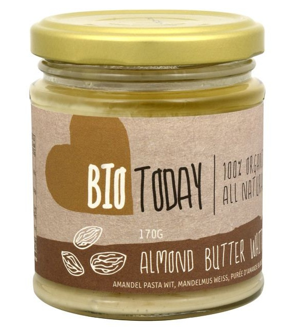 Bio Today BIO Mandlové máslo bílé 170 g