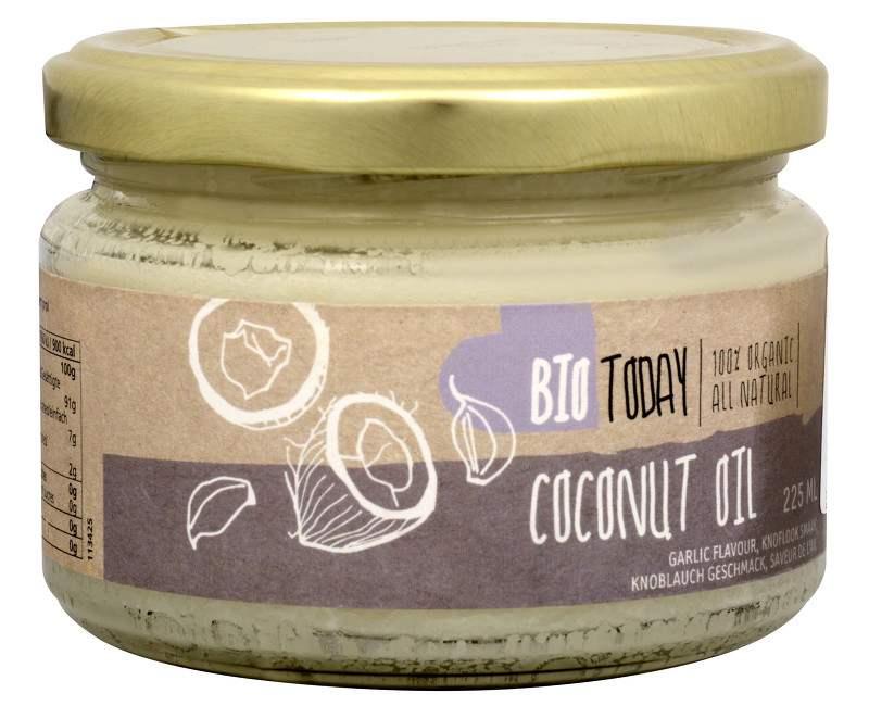 Bio Today BIO Kokosový olej s česnekem 225 ml