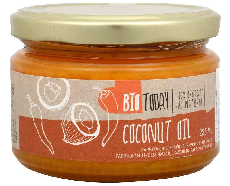 Bio Today BIO Kokosový olej s chilli papričkami 225 ml