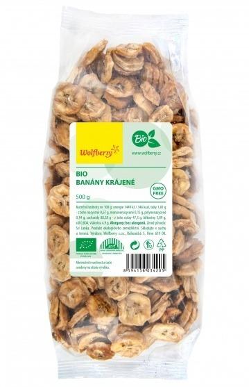 Wolfberry Bio Banány krájené 500 g