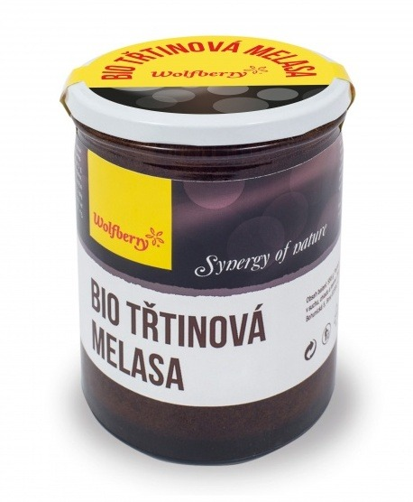 Wolfberry BIO Třtinová melasa 450 g