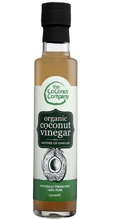 The Coconut Company BIO Kokosový ocet s mateční kulturou Raw 250 ml