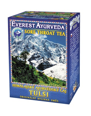 Everest Ayurveda TULSI - čaj na nachlazení a krční oblast 100 g