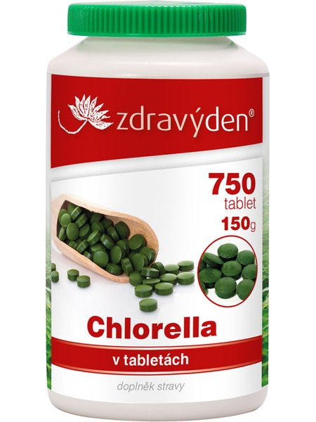 ZdravýDen® Chlorella 750 tablet, 150 g