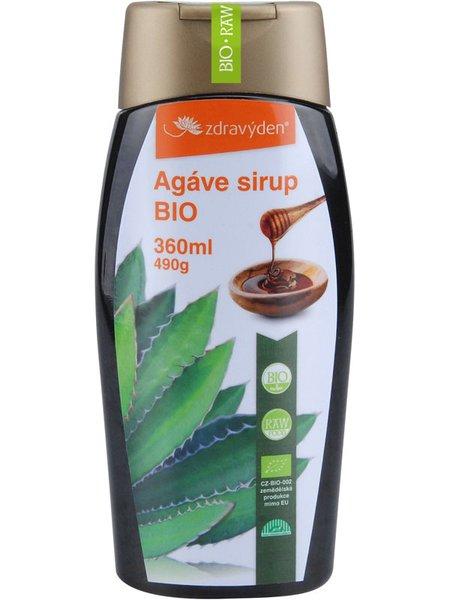 ZdravýDen® BIO Agáve sirup Raw 360 ml