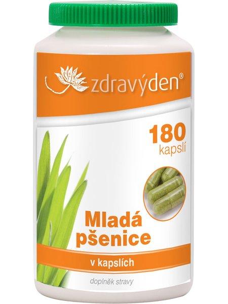 ZdravýDen® Mladá pšenice 180 kapslí