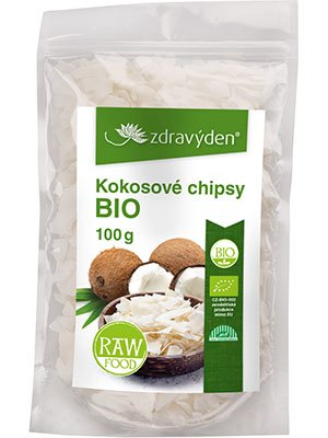 ZdravýDen® BIO Kokosové chipsy RAW 100 g