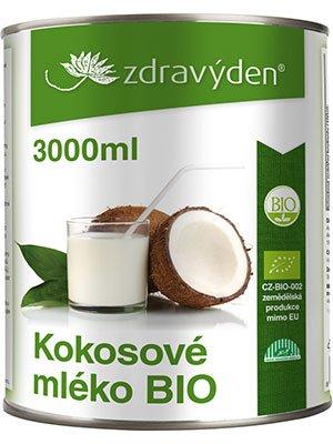 ZdravýDen® BIO Kokosové mléko 3000 ml